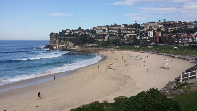 Farther south is Bronte Beach, another great place to enjoy the surf, sand, and sun